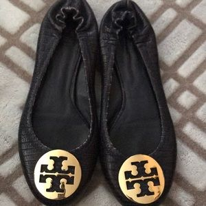 Tory Burch flats good condition